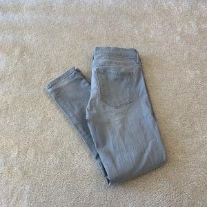 Banana republic skinny ankle jeans size 27